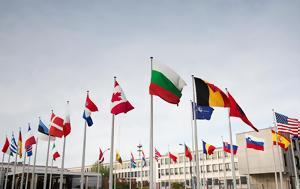 Διαδηλώσεις, Τραμπ, NATO, Βρυξέλλες, diadiloseis, trab, NATO, vryxelles