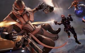 LawBreakers, Πιστολίδι, PS4, LawBreakers, pistolidi, PS4