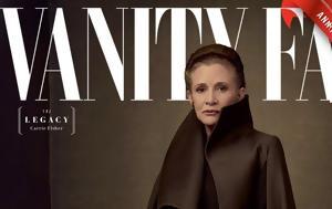 Vanity Fair, Star Wars, Carrie Fisher