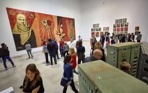 Το γκράφιτι φεύγει από τους δρόμους και μπαίνει στα μουσεία