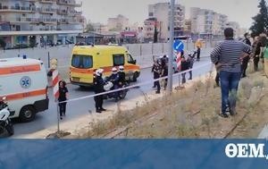 Man, Evosmos Police Station Greece