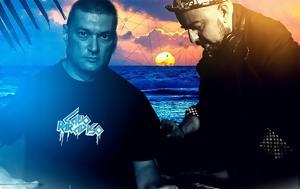 Sunset Beach Party, George Siras, Roni Iron, Paradise Beach Bar