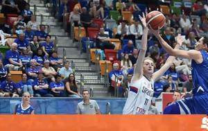 Greece National Team, Serbia, FIBA EuroBasket Women 2017
