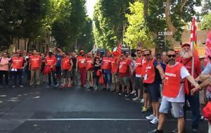 Ιταλία, Διαδήλωση, italia, diadilosi