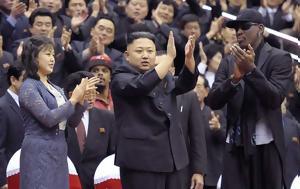 O Ντένις Ρόντμαν, Βόρεια Κορέα, O ntenis rontman, voreia korea