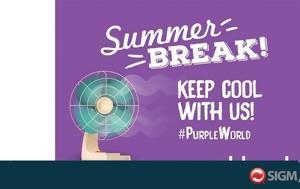 Καλοκαίρι, Cablenet #PURPLE WORLD, kalokairi, Cablenet #PURPLE WORLD