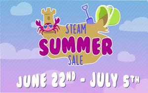 Ξεκίνησε, Steam Summer Sale 2017, xekinise, Steam Summer Sale 2017