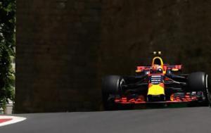F1 GP Αζερμπαϊτζάν FP2, Verstappen, F1 GP azerbaitzan FP2, Verstappen