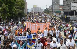 Βενεζουέλα, Χιλιάδες, - Ενάντια, venezouela, chiliades, - enantia