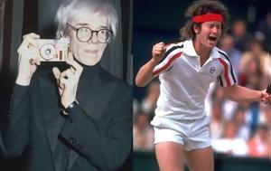 John McEnroe, Andy Warhol