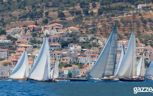 Kαλύτερο, Spetses Classic Yacht Regatta 2017, Kalytero, Spetses Classic Yacht Regatta 2017