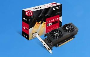 Radeon RX 550 2GT LP OC, MSI