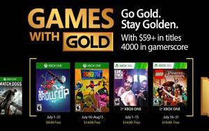 Ανακοινώθηκαν, Games, Gold, Ιούλιο, anakoinothikan, Games, Gold, ioulio