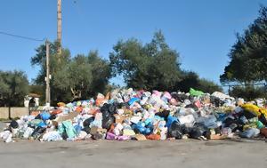 Η αντιπολίτευση κατηγορεί τη δημοτική αρχή για αποτυχία στο θέμα της διαχείρισης των σκουπιδιών