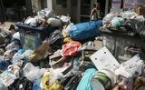 Σε τρεις μέρες θα μαζευτούν οι χιλιάδες τόνοι σκουπιδιών από τους δρόμους,