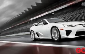 """8 """"κουφά"""", Lexus LFA, 8 """"koufa"""", Lexus LFA"""