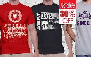 Καλοκαιρινές, -30, Footshirts, kalokairines, -30, Footshirts