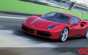 Έκλεψε, Ferrari 488 GTB, eklepse, Ferrari 488 GTB
