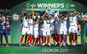 Ευρωπαϊκό Πρωτάθλημα Κ19, Πρωταθλήτρια Ευρώπης, Αγγλία, evropaiko protathlima k19, protathlitria evropis, anglia