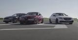 Giulia Quadrifoglio, M3 Competition Pack,Mercedes-AMG C63 S, 0-240