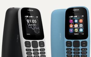 Nokia 105, Επίσημα, Nokia 105, episima