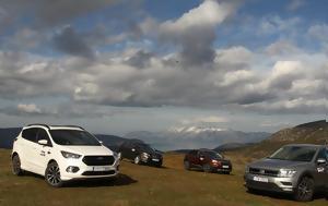Ford Kuga 1 5 TDCi - Nissan Qashqai 1 5 Ci - Peugeot 3008 1 6 BlueHDi 120 - VW Tiguan 1 6 TDI
