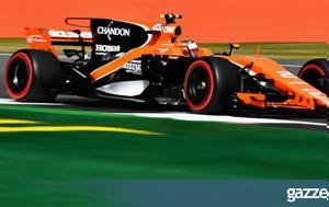 McLaren Mercedes, 2018