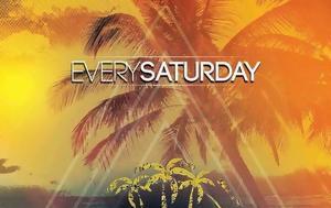 Every Saturday, Ammos All Day Beach Bar