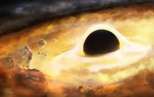 Οι σπειροειδείς βραχίονες επιτρέπουν στους μαθητές να εκτιμήσουν τη μάζα μιας μαύρης τρύπας