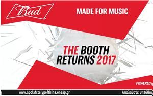 Bud Made, Music, Booth