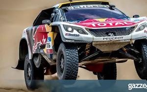 Νίκη, Peugeot, Silk Way Rally, niki, Peugeot, Silk Way Rally