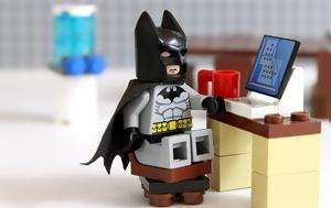 Πώς, Batman, Social Media, pos, Batman, Social Media