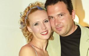 Παντρεύτηκε, Γιώργος Λιάντος -Στο, Εβελίνα Παπούλια, [εικόνες], pantreftike, giorgos liantos -sto, evelina papoulia, [eikones]