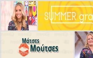 Τηλεθέαση, Summergram, Μάτσες – Μούτσες, Σαββατοκύριακο…, tiletheasi, Summergram, matses – moutses, savvatokyriako…