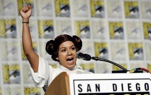 Fan Clubs, Star Wars, Κάρι Φίσερ, Comic Con, Fan Clubs, Star Wars, kari fiser, Comic Con