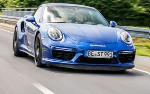Porsche 911 Turbo S, 344, Autobahn