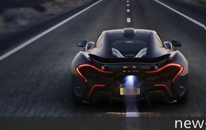 Μέσα, 2017, McLaren P1, mesa, 2017, McLaren P1