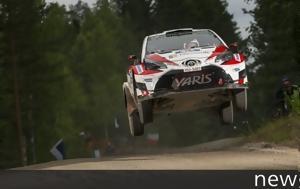 WRC Ράλι Φινλανδίας, Πετάει, Lappi, Latvala, WRC rali finlandias, petaei, Lappi, Latvala