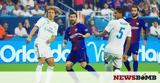 Ρεάλ Μαδρίτης - Μπαρτσελόνα 2-3, Καταλανικό, Clasico,real madritis - bartselona 2-3, katalaniko, Clasico