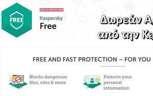 Kaspersky Free Antivirus -