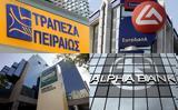 Μεγάλες, Ελληνικές, Alpha Bank Πειραιώς Εθνική Eurobank,megales, ellinikes, Alpha Bank peiraios ethniki Eurobank