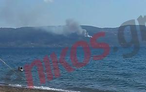 Φωτιά, Αγίους Αποστόλους - ΤΩΡΑ - ΦΩΤΟ, fotia, agious apostolous - tora - foto