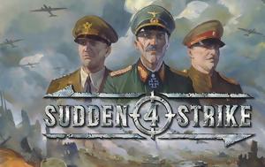 Επιστροφή, Β' Παγκοσμίου, Sudden Strike 4, epistrofi, v' pagkosmiou, Sudden Strike 4