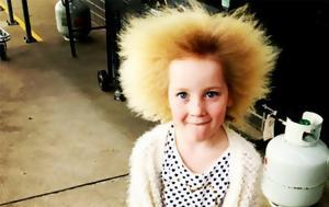 7χρονο, Σύνδρομο, Αχτένιστων Μαλλιών, 7chrono, syndromo, achteniston mallion