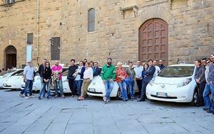Ηλεκτροκίνητα Nissan LEAF, Ιταλία, ilektrokinita Nissan LEAF, italia