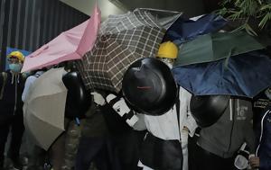 Στη φυλακή οι κεφαλές της «εξέγερσης των ομπρελών»