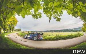 WRC Ράλι Γερμανίας, Μπροστά, Tanak, WRC rali germanias, brosta, Tanak