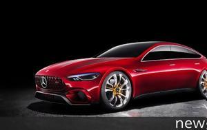 Ετοιμάζεται, 4θυρη Mercedes-AMG GT, etoimazetai, 4thyri Mercedes-AMG GT