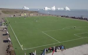 Γροιλανδία, Ποδόσφαιρο, groilandia, podosfairo