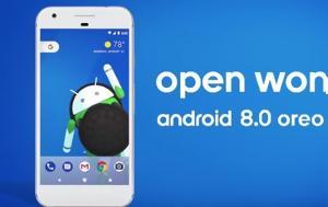 Android 8 0 Oreo, Δείτε, Android 8 0 Oreo, deite
